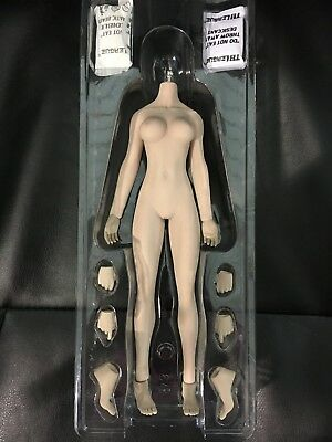 "Phicen TBLeague 1/6 Scale 12"" Super-Flexible Female Seamless Suntan Body S25B"
