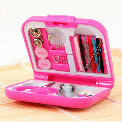 Portable Travel Sewing Kits Case Needle Threads Box Thimble Threads For Home