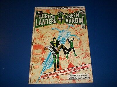 Green Lantern #86 Neal Adams Drug Issue Lower Grade with tape on spine