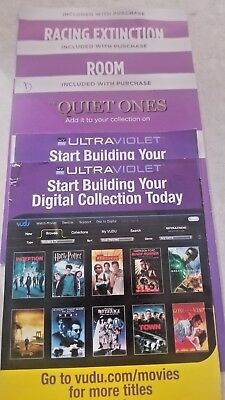 Movie Digital Codes