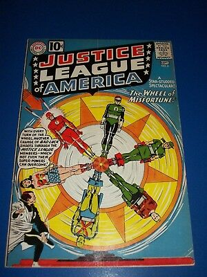 Justice League #6 Silver age 10 cent Key Wow Origin and 1st App. Fortune Solid