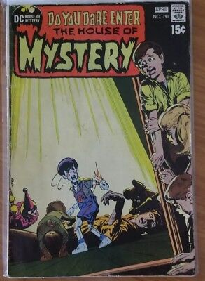 THE HOUSE OF MYSTERY #191 (Apr 1971, DC) Neal Adam Cover