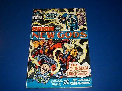 New Gods #2 Bronze age Kirby 2nd Darkseid VG+ Origin