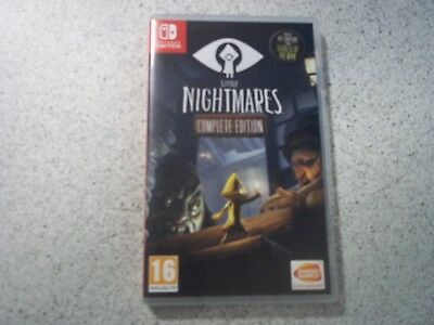 Nintendo Switch LITTLE NIGHTMARES:COMPLETE EDITION.EMPTY BOX ONLY.