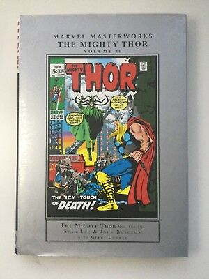 Marvel Masterworks The Mighty Thor Volume 10 - 1st Edition - Near Mint - HC