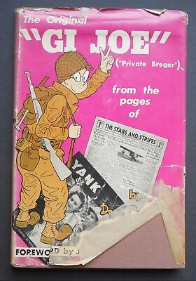 1945 - GI Joe - Hardback Book - 90 Pages - Good Condition - All Pages - #961L