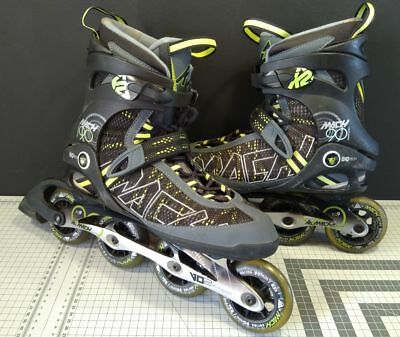 Roller K2 Mach 90 ExoTech Mens Inline Skates taille 45  UK Size 10.5 patins
