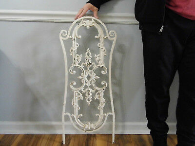 """Vintage Wrought Iron Architectural Salvage Wall Decor Art 32 1/2"""""""