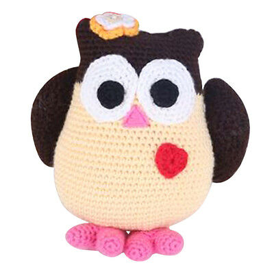 Owl Doll Toy Crochet Kits DIY Amigurumi Making Easy to Learn for Kids Gifts