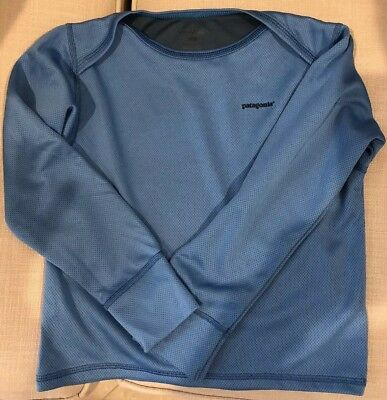 Patagonia Base Layer Shirt 3T Blue ~ Great Easy To Don Shirt