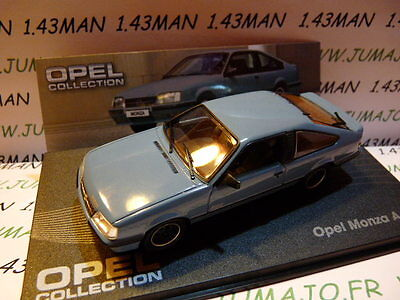 OPE33R voiture 1/43 IXO eagle moss OPEL collection  : MONZA A GSE 1983/1986