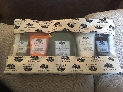 NEW ORIGINS Best Sellers Gift Set Bag Minis Mask Cleanser Moisturiser Lotion
