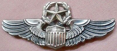 WWII U.S. army air corps USAAF senior pilot wings