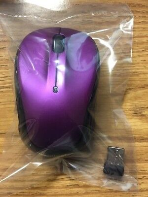 LOGITECH M325 RED Wireless USB Scroll Optical Mouse (Mac