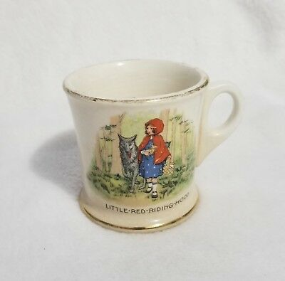 Vintage K.T & K China Knowles Taylor Little Red Riding Hood Mug Cup Childrens