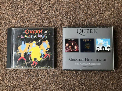Queen, The Platinum Collection and Its a kind of Magic, music cd's  VGC!