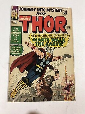 Journey Into Mystery 102 4.0 Vg Very Good Marvel Silver Age