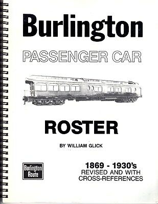 """Burlington Passenger Car Roster"""