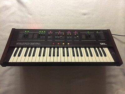 SIEL ORCHESTRA ! Vintage Synth Explorer ! STRING MACHINE ! Synthesizer Keyboard