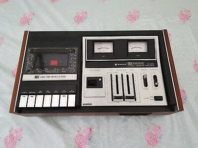 Sanyo RD4260G 1980's Cassette Player - Vintage