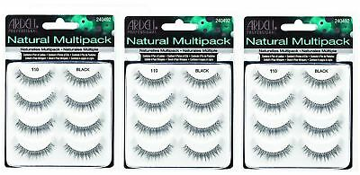 Ardell 100% Natural Hair Multipack 110 Natural Professional False Eyelashes