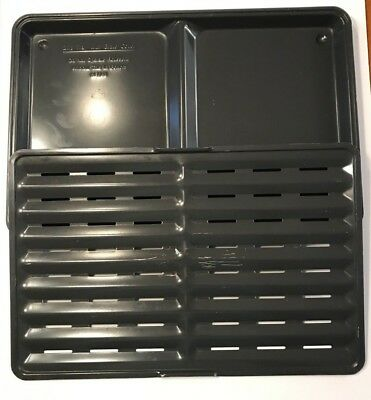 RONCO Showtime Rotisserie & BBQ Model 6000 -DIP TRAY & GRATE-Replacement Part