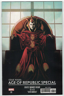 Star Wars Age of Republic Special #1 Greatest Moments Variant Marvel 2019