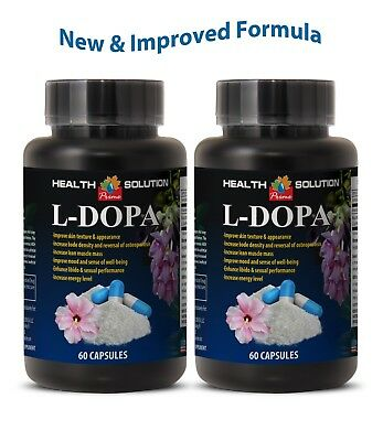 mucuna pruriens extract - L-DOPA 99% EXTRACT - sexual performance 2 Bottles