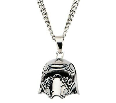 Star Wars VII: The Force Awakens,             Kylo Ren Stainless Steel Necklace.