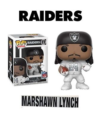 Funko Pop Nfl Football - Raiders - Marshawn Lynch Color Rush - Figur Neu ovp 4774b319f
