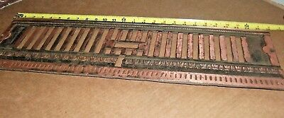 Copper ++ BEAUTIFUL Fireplace Architectural Salvage 8x26 aprx - See pix