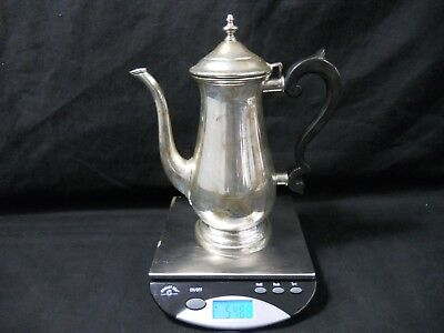 Lunt Sterling Silver Paul Revere Reproduction Coffee Pot #621-D 549.0g