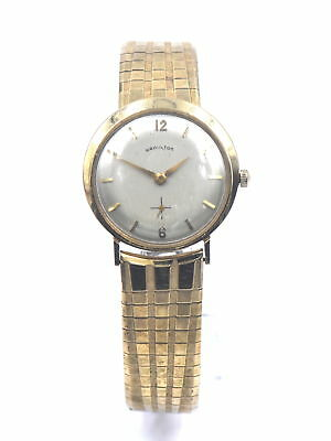 Vintage Gents Hamilton 770 Mechanical Wristwatch 22J Fancy S&w Gold Fill Case