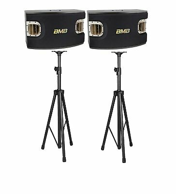 BMB CSV900 1200Watts Speakers with Speaker Stands Combo