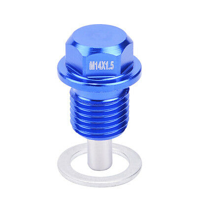 M14 x 1.5MM Engine Magnetic Oil Drain Plug Screw Nut Bolt Oil Drain Sump Nut