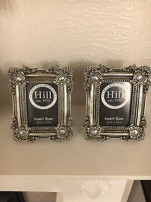 Hill Interiors Small Vintage Style Pair Of Matching Photo Frames