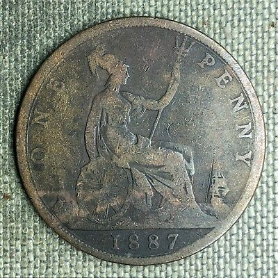 Great Britain Penny, 1887 - 03127