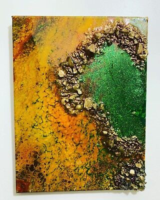 Mellow Yellow Remix Resin Signed By Artist