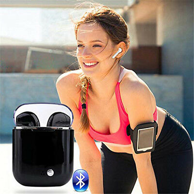 I7s TWS Earbuds 4.2 Stereo Wireless Bluetooth Headset sport Earphone for iPhone
