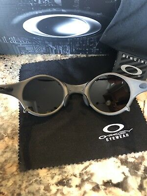 New Rare OAKLEY Sunglasses MARS X-METAL Titanium w/ Black Iridium MO17560 04-103