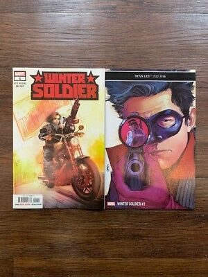 Winter Soldier #1 and #2 Marvel Comics 2019 1st App of R.J. Teenage Assassin