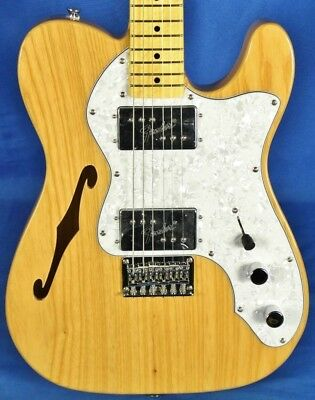 Fender Squier Vintage Modified 72 Thinline Telecaster Electric Guitar Natural