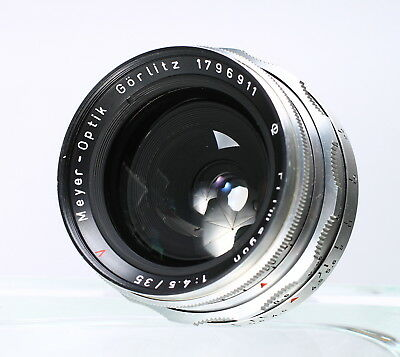 Meyer-Optik Gorlitz Primagon 35Mm F/4.5 Wide Angle Lens For Exakta