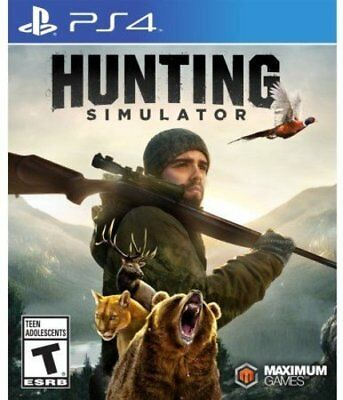 Hunting Simulator Sony PS4 Game BRAND NEW & SEALED