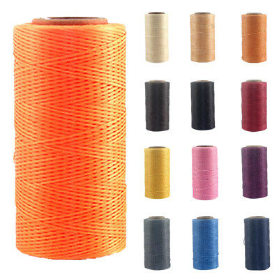 DIY Beading Jewelry Cord Bracelet Thread Cord Wax Nylon String 260m 1mm Colorful