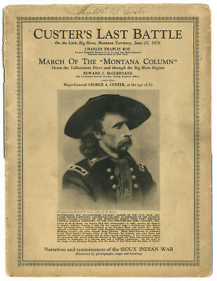 Custer's Last Battle Signed by Elizabeth B. Custer PSA/DNA Authenticated