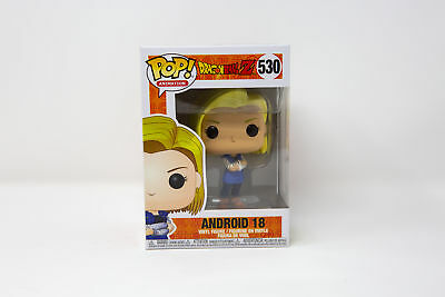 Funko Pop Animation Dragon Ball Z Android 18 #530 36403 | IN STOCK | FAST SHIP!