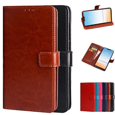 Dooqi Luxury PU Leather Wallet Card Flip Stand Cover Case For LG G7 ThinQ