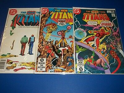 New Teen Titans #6,28,39 lot of 3 Trigon Terra