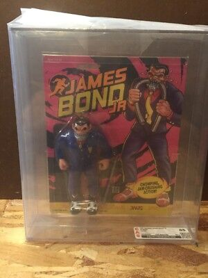Hasbro James Bond JR Jaws Graded 85 Vintage Action Figure MOC